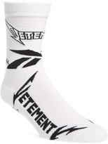 Vetements Women's Metal Crew Socks