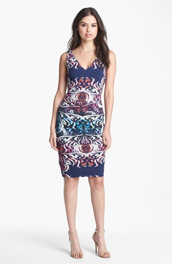 Nicole Miller 'Emergence' Matte Jersey Dress