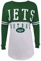 5th & Ocean Women's New York Jets Sweeper T-Shirt