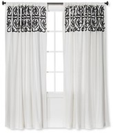 Threshold Scroll Embroidery Curtain Panel