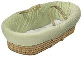Baby Doll Bedding Heavenly Soft Moses Basket, Sage by BabyDoll Bedding