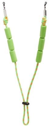 Loewe Paula's Ibiza - Adjustable Braided Cord Sunglasses Strap - Green