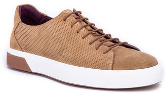 Bally Sol Perforated Suede Sneaker