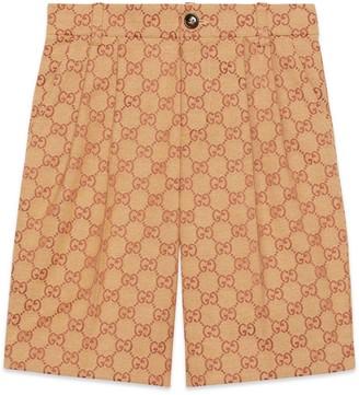 Gucci Children's GG canvas shorts
