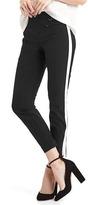 Gap Bi-stretch skinny ankle tuxedo stripe pants