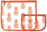 Echo Pineapple Clearly Cool Pouch Handbags