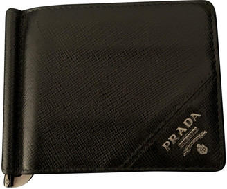 Prada Black Leather Small bags, wallets & cases