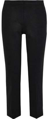 Derek Lam Drake Cropped Stretch-cady Slim-leg Pants