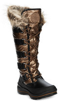 GUESS Women's Hadly Lace-Up Cold Weather Boots