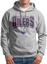 Sarah Men's Edmonton Oilers Nhl Logo Hoodie XL