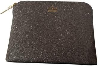 Kate Spade Silver Glitter Clutch bags
