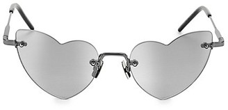 Saint Laurent Loulou 50MM Heart Sunglasses