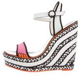 Sophia Webster Patterned Wedge Sandals
