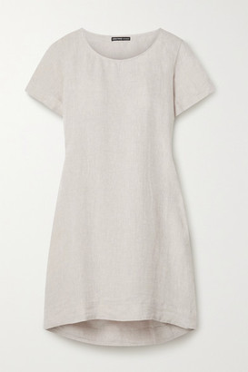 James Perse Pleated Linen Tunic - Beige