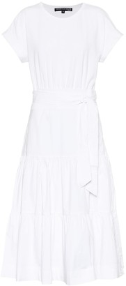 Veronica Beard Trail stretch-cotton midi dress