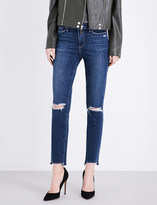 Paige Hoxton Ankle stepped-hem skinny jeans