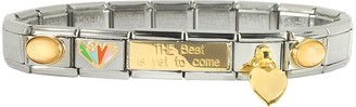 Nomination The Best is Yet to Come Sterling Silver & Stainless Steel Bracelet