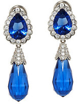 Elizabeth Taylor As Is The Simulated SapphireEarring