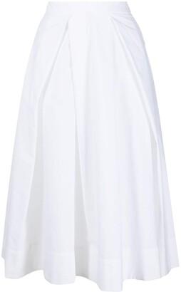Marni Pleated Mid-Length Skirt