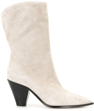 Paige Landyn cone-heel boots