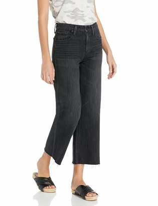 Lucky Brand Women's Wide Leg Crop Jean in Humbled 26