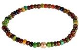 Luis Morais Ying-yang Rose-gold Bead Bracelet