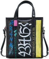 Balenciaga Graffiti Bazar Shopper XS