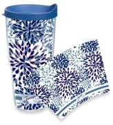 Fiesta Tervis® Paisley Lapis Wrap 24-Ounce Tumbler with Lid in Blue Calypso