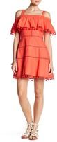 Red Carter Aster Linen Blend Dress