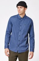 RVCA Service Long Sleeve Button Up Shirt