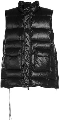 Unravel Project Oversized Quilted Puffer Vest