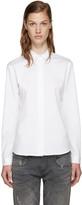 6397 White Poplin Shirt