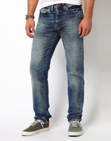 Levi's Jeans 1954 501 Regular Tapered Fit Selvage