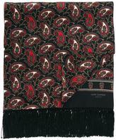 Saint Laurent paisley print scarf - men - Silk - One Size