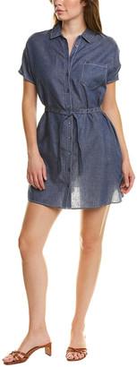Tsesay Tie-Waist Linen-Blend Shirtdress