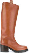A.F.Vandevorst knee-high boots - women - Calf Leather/rubber - 36