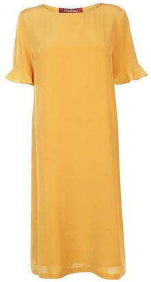 Max Mara Max Cloro Silk Dress Ladies