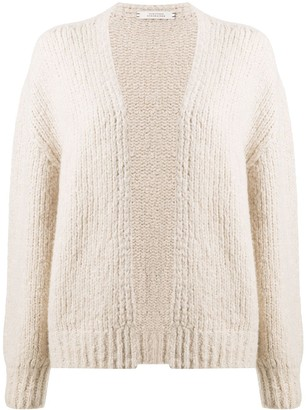 Dorothee Schumacher Knitted Open-Front Cardigan