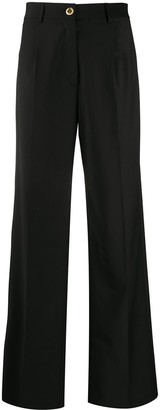 Seen Users High-Waisted Wide Leg Trousers
