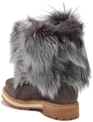 Montelliana Seicento Genuine Fox Fur Boot