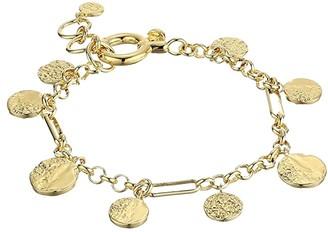 Gorjana Banks Coin Bracelet (Gold) Bracelet