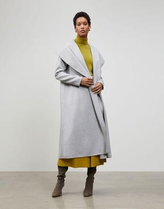 Lafayette 148 New York Plus-Size Luxe Cashmere Ashford Coat