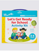 Marks and Spencer Let's Get Ready for School Activity Kit