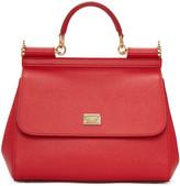 Dolce & Gabbana Red Medium Sicily Bag