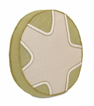 Vivo Eastern Accents Stelling Bisque Tambourine Throw Pillow Eastern Accents