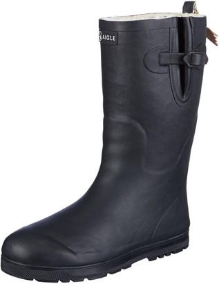 Aigle Unisex Kids' Woodypop Fur Wellington Boots