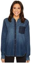 Joe's Jeans Judith Denim Shirt Women's Long Sleeve Button Up