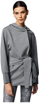Varley Cove Wrap Sweat (Lead Marl) Women's Coat