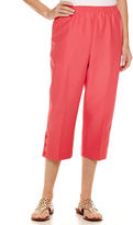 Alfred Dunner Essential Pull On Capri Pant