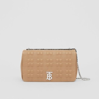 Burberry Medium Quilted Grainy Leather Lola Bag